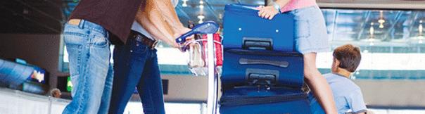 bagage limiet in het vliegtuig